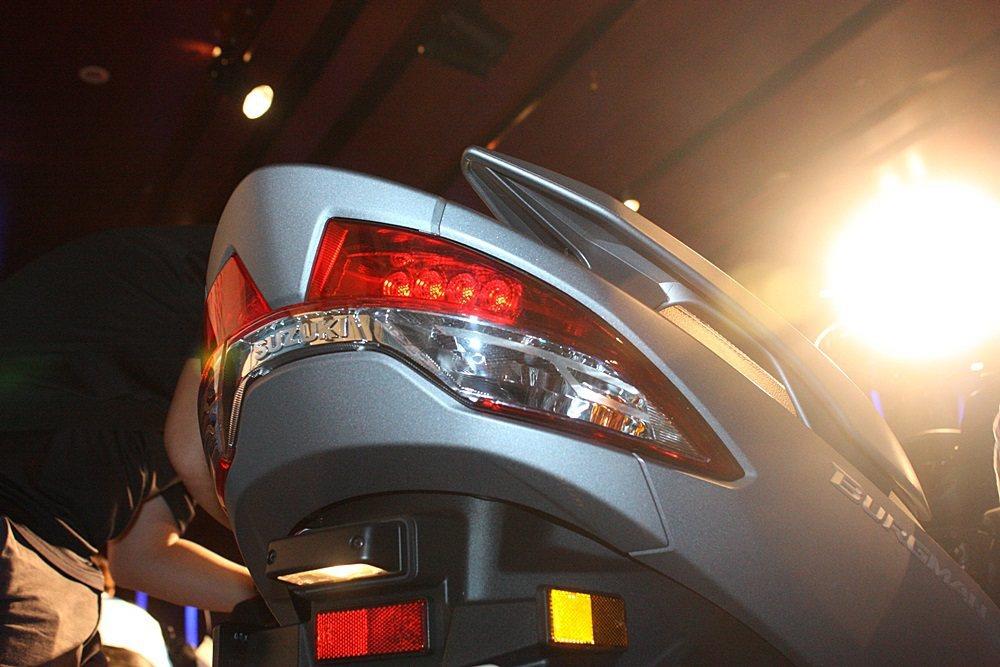 尾燈也是LED。 記者林和謙/攝影