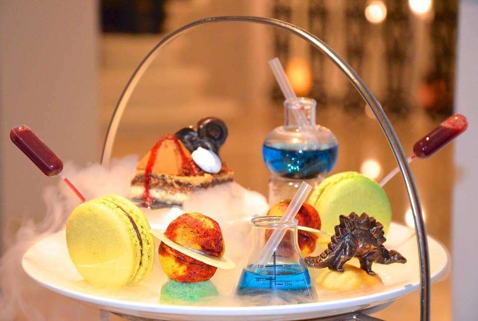 科學下午茶 (來源:The Ampersand Hotel官網)