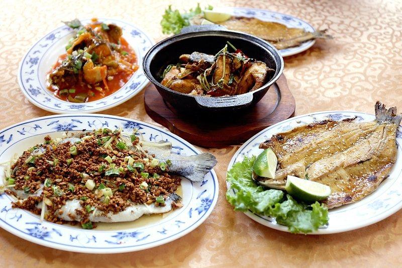 鱒魚料理不論是三杯、清蒸或燒烤都美味無比