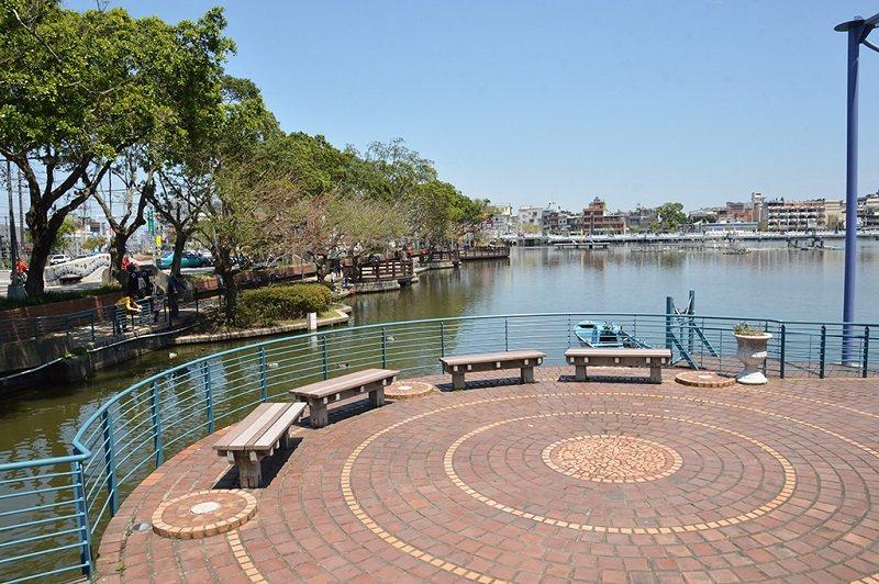 環池步道的觀景台