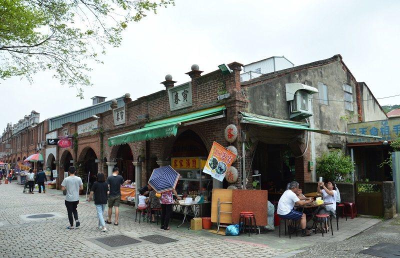湖口老街仍保有歷史的建築原貌