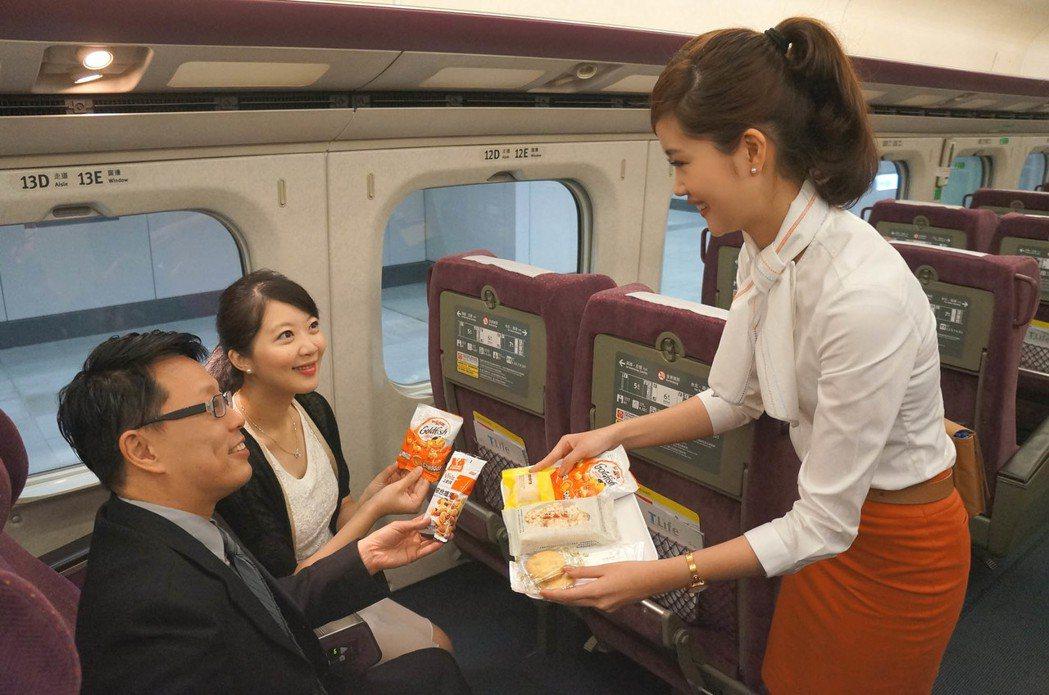 台灣高鐵商務車廂餐點及飲品6月起全面更新。圖/台灣高鐵提供