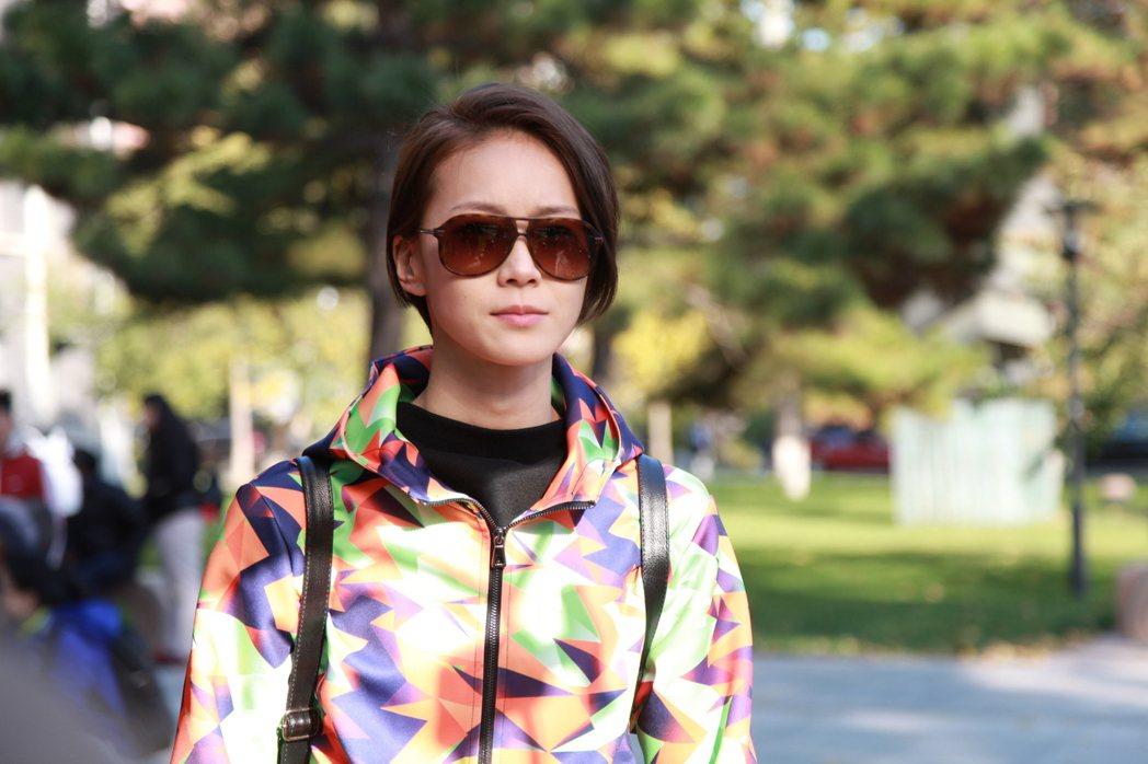 鍾瑶在「替身」中扮帥T網紅。圖/三映電影提供