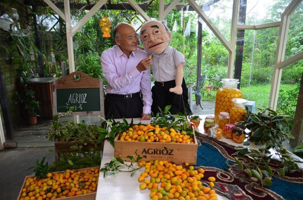 橘之鄉蜜餞形象館成立20多年,是全國第一家透明化製程的蜜餞廠。記者廖雅欣/攝影