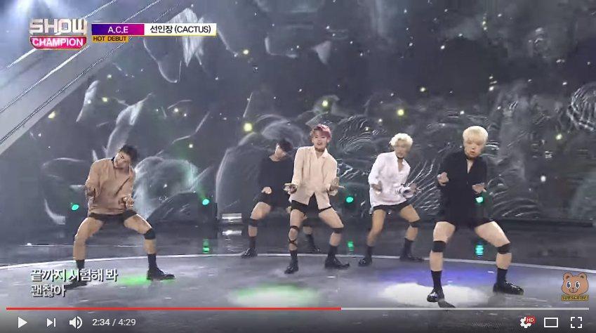 最近才剛在韓國出道的新5人男團「A.C.E」,才剛一出道就受到網友矚目。 圖/擷...