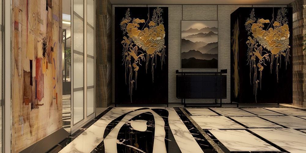 舍子美學作品,北京一間私人招待會所。圖/舍子美學提供。