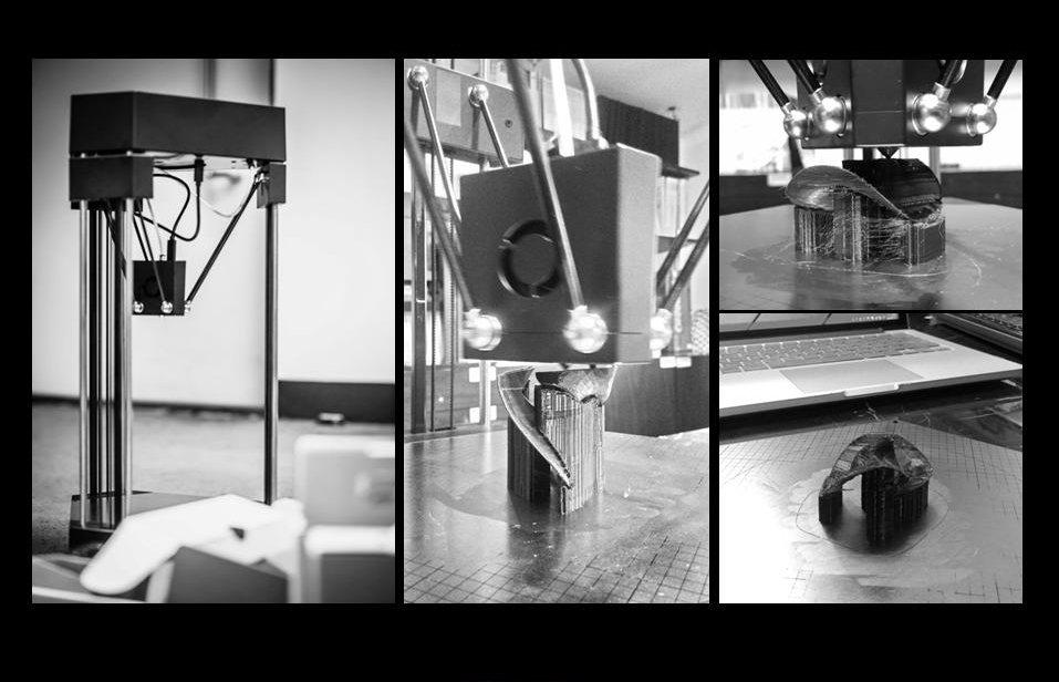 集風器 3D過程列印