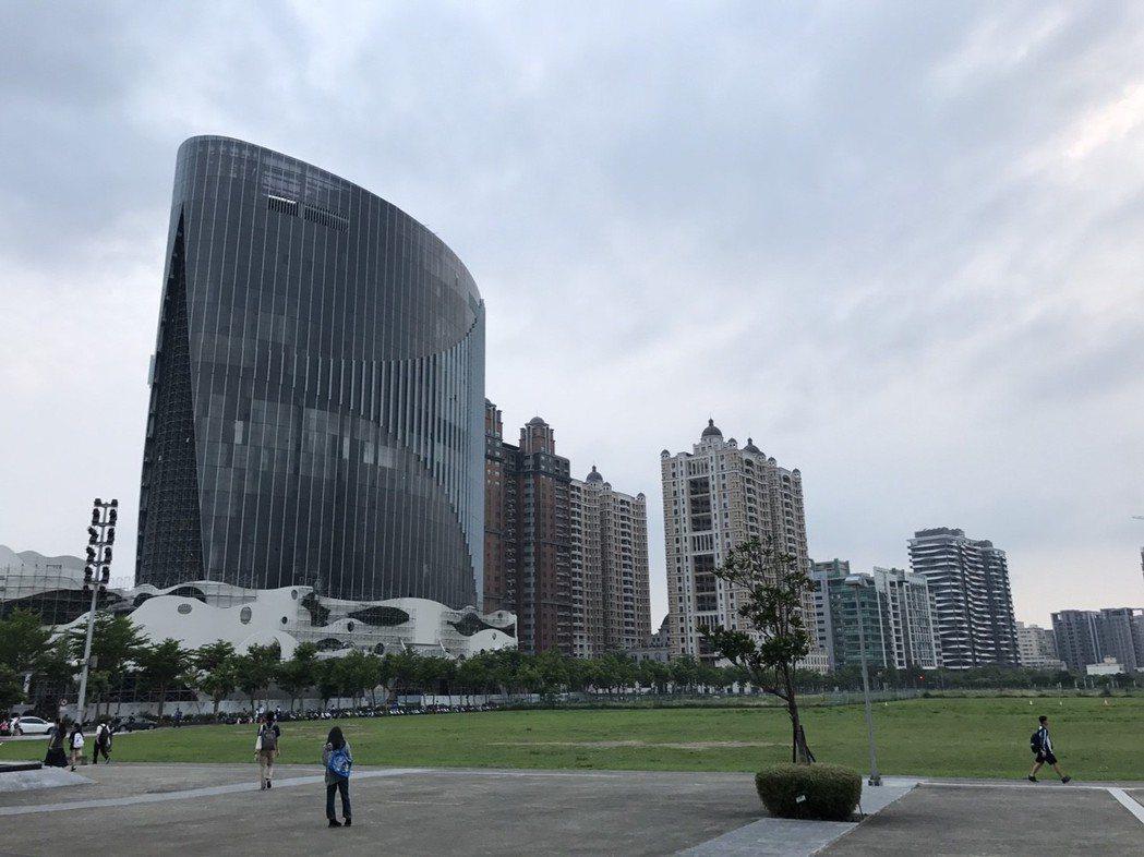 高鐵新竹站一帶 記者游智文/攝影