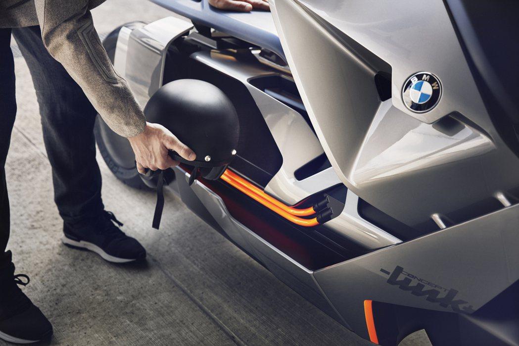 BMW Motorrad Concept Link。圖/BMW Motorrad...