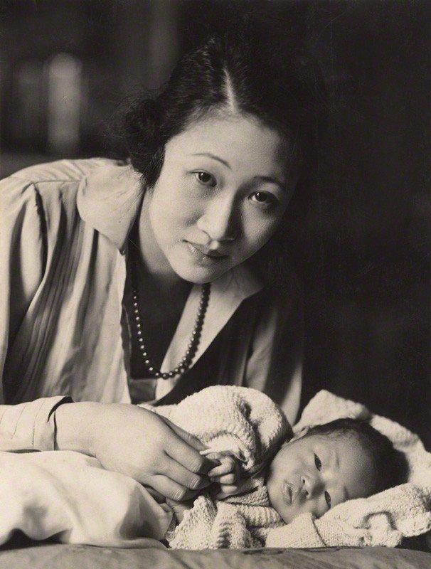 顧維鈞的第三任妻子黃蕙蘭。