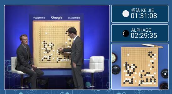 中國棋院決定給退役的AlphaGo頒發圍棋九段證書。取自新浪