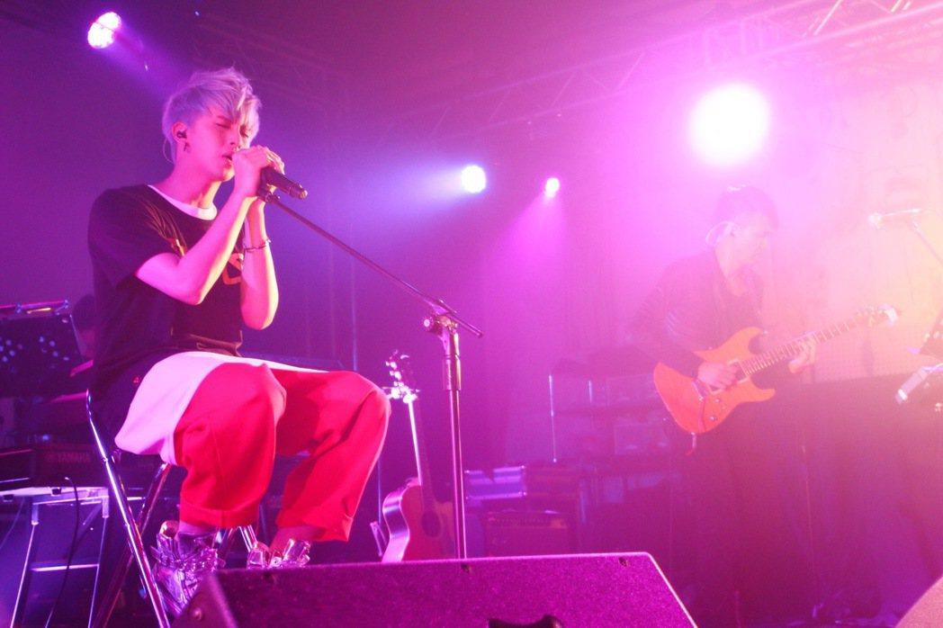田亞霍出道以來首次個人演唱會。圖/豐華提供