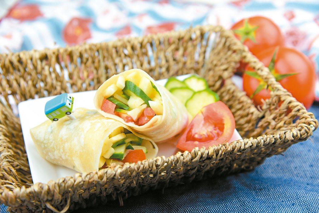營養蔬果捲