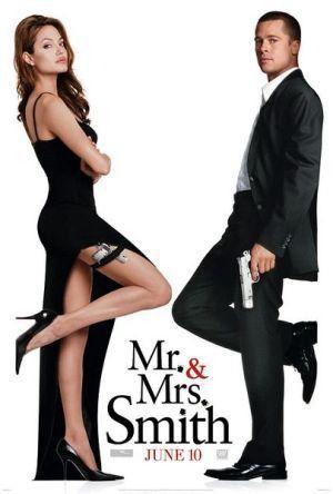 好萊塢片子「史密斯伉俪」(mr. and mrs. smith)劇照。 圖/摘自...