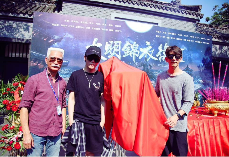 修杰楷(右)首次參與古裝劇演出。圖/摘自臉書