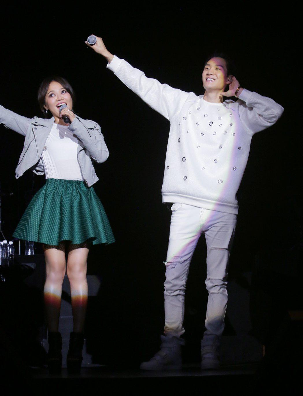 周興哲「This Is Love」雲頂演唱會。圖/索尼提供