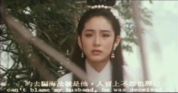 林青霞也演過白娘娘,不過造型並不特殊。圖/截自YouTube