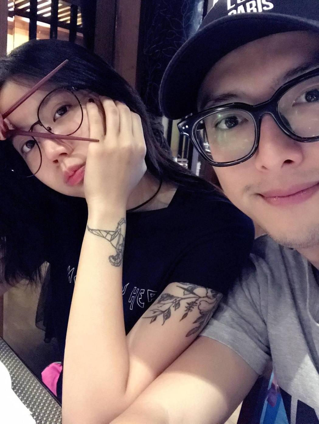 陳艾琳離婚後似乎迅速有了新戀情。 圖/擷自陳艾琳臉書