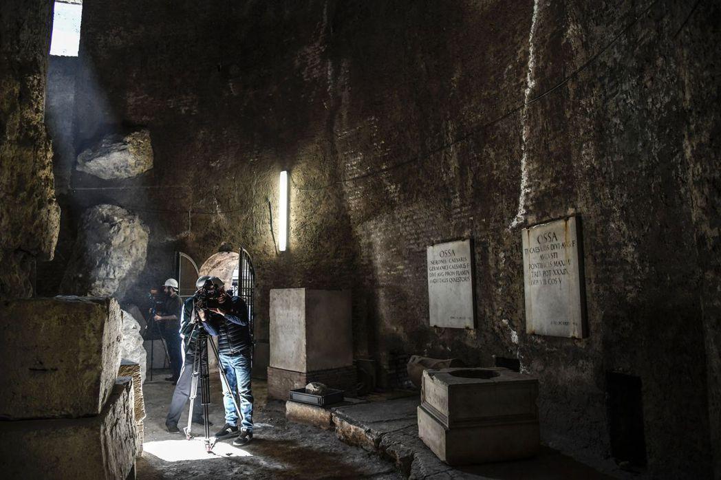 第二期修復工程,將針對陵墓本身增加許多現代化公共設施及展覽設備。 圖/法新社