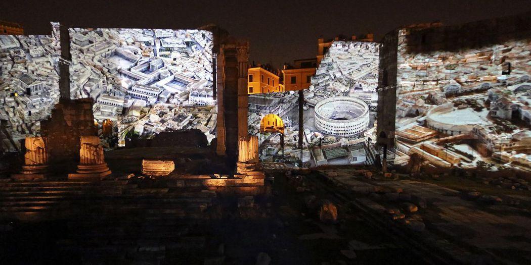 2014年,羅馬城為奧古斯都兩千年忌日舉辦盛大特展。 圖/路透社
