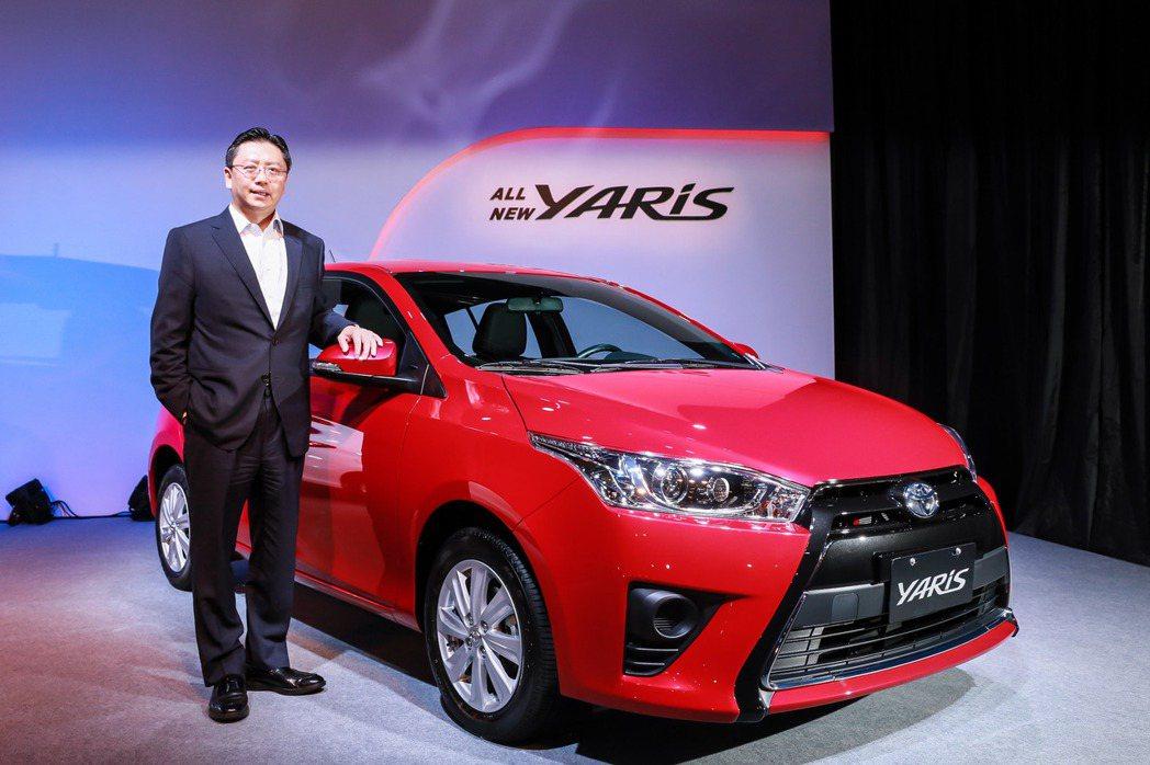 Toyota Yaris穩坐2BOX級距市場銷售冠軍。 圖/和泰汽車提供