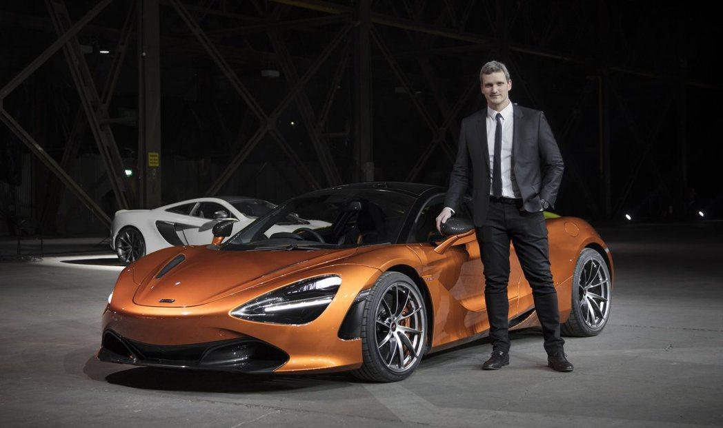 McLaren 近日宣布品牌總監將由 Rob Melville 出任。圖為 Ro...