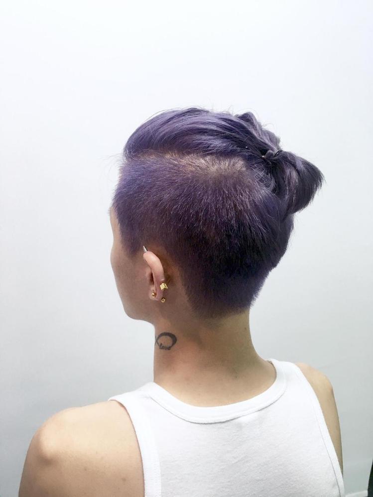 髮型創作/諾亞藝術造型 - Noya湘蓉。圖/HairMap美髮地圖提供