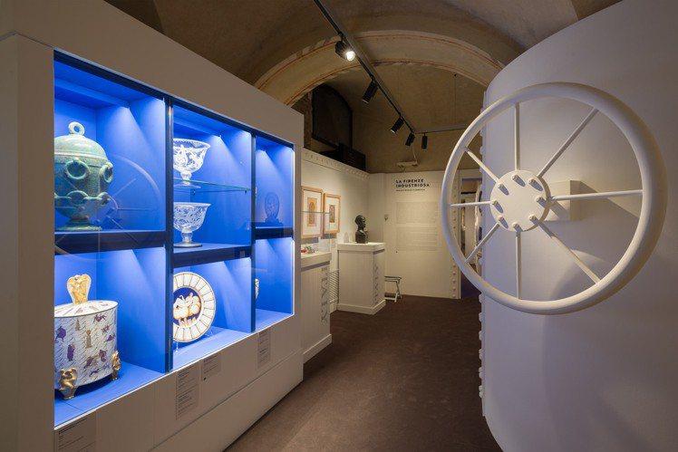 5號展廳《二十世代百花齊放》現場陳列。圖/Ferragamo提供