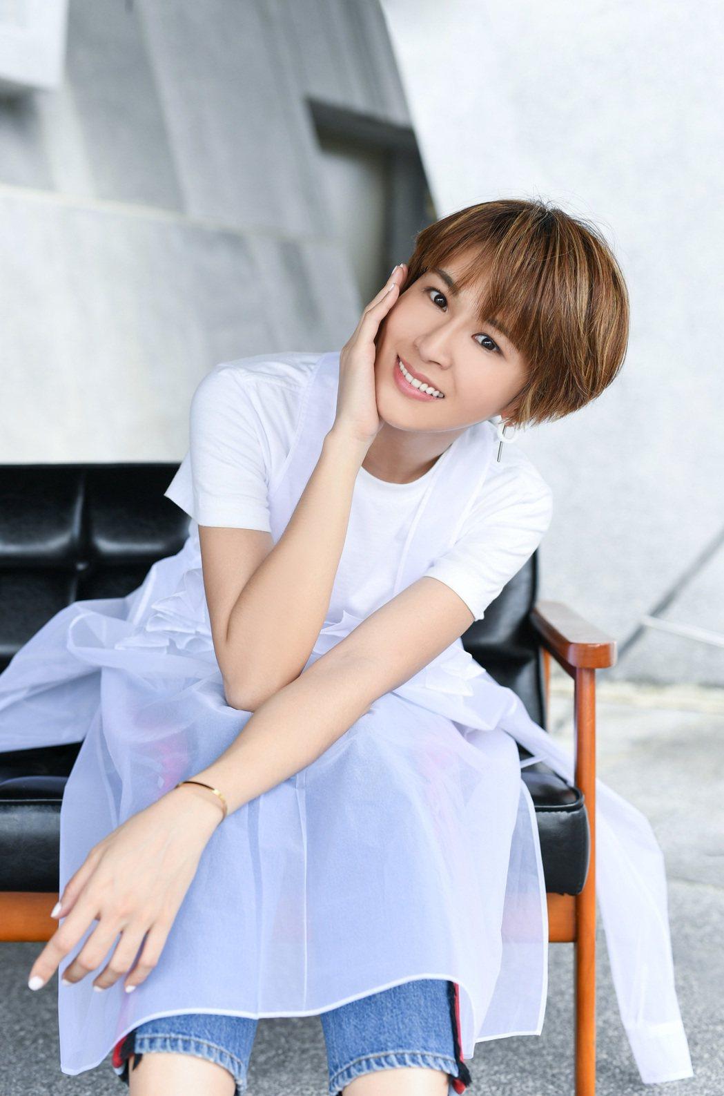 曾沛慈將推出新專輯,首波新歌「偏愛」,MV要演出內心戲。圖/福茂提供