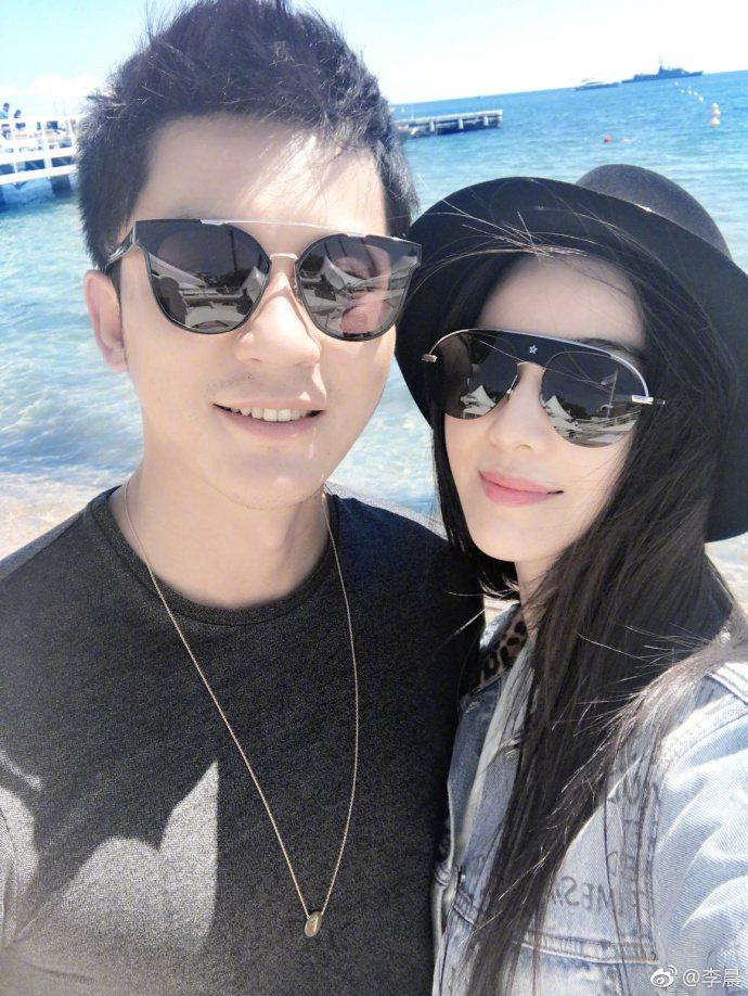 范冰冰自曝與男友李晨交往後瘦了7公斤。圖/取自微博