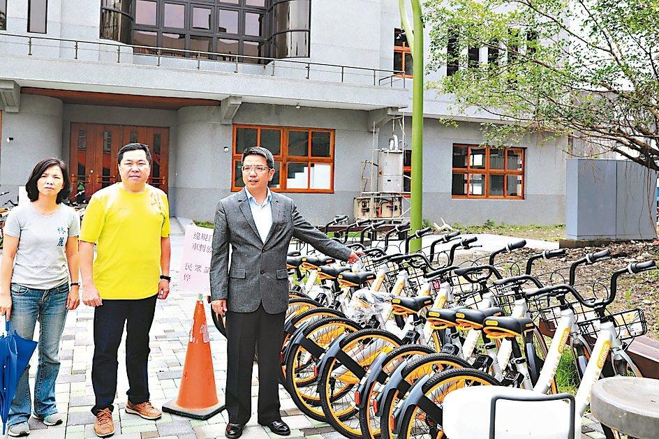 oBike進駐 宜市公共自行車被暫緩