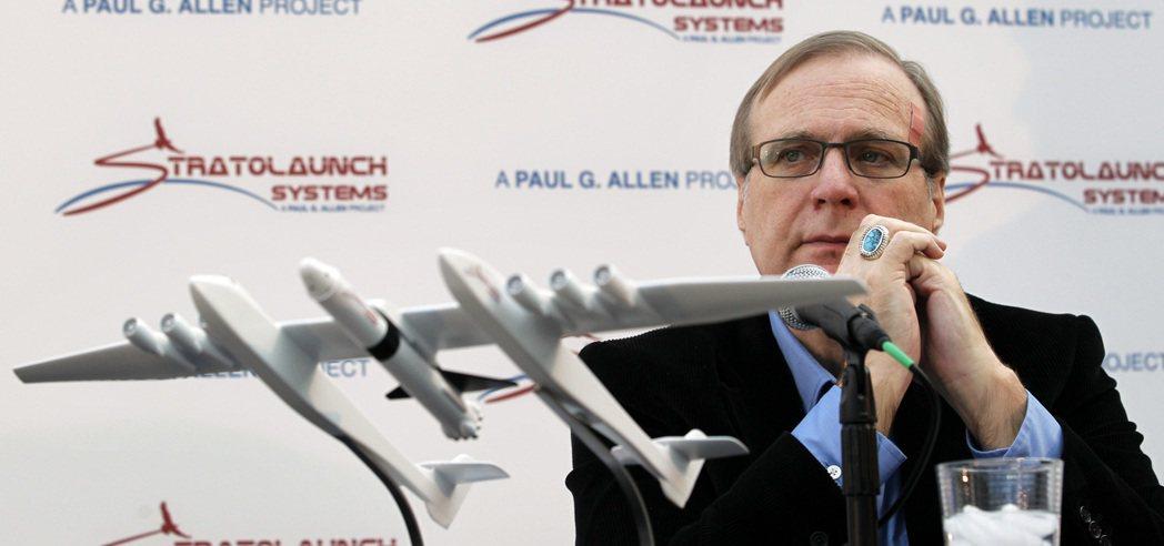 微軟共同創辦人、NBA「波特蘭拓荒者」老闆艾倫2011年和「同溫層發射載機」模型...