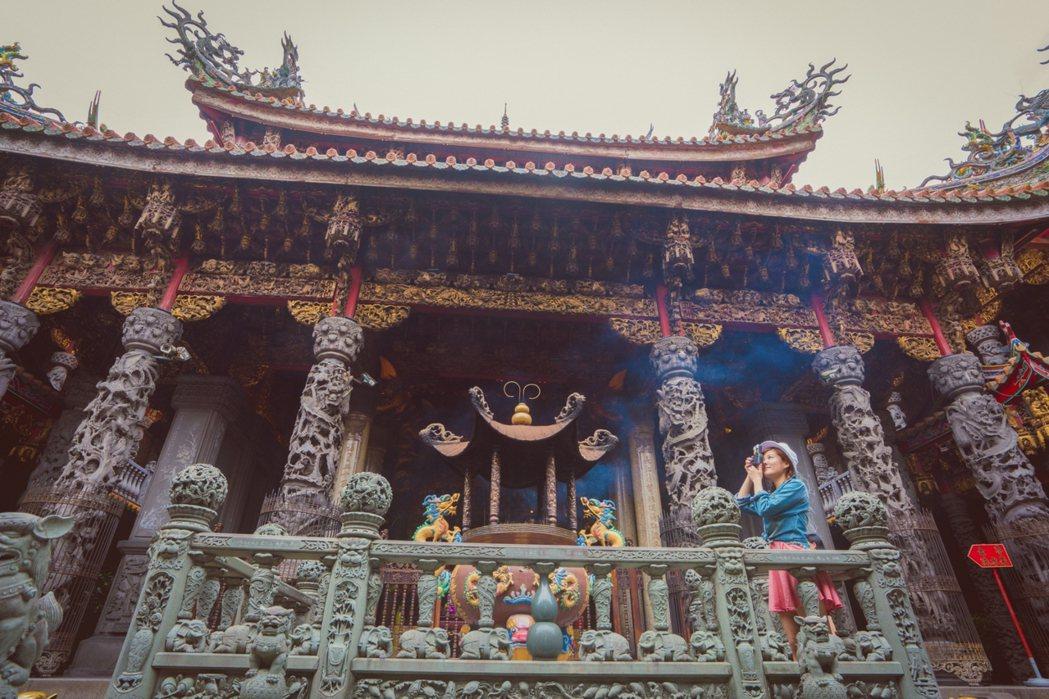 三峽清水祖師爺廟有「東方藝術殿堂」的美名。 圖/新北市觀旅局提供