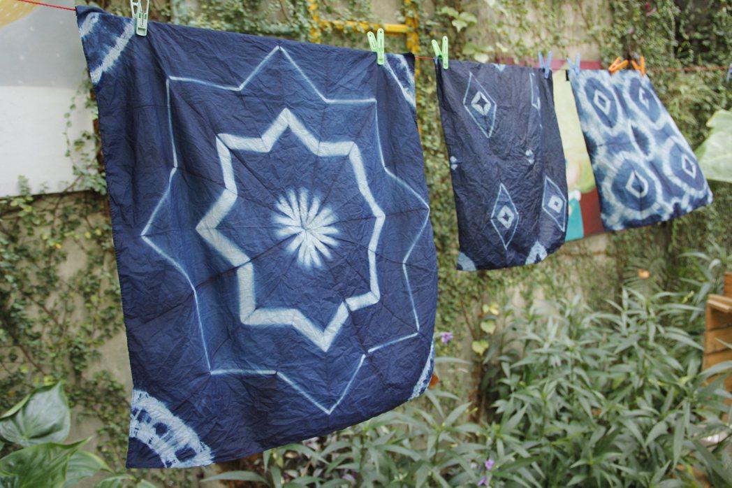 三峽是認識藍染文化,DIY製作獨一無二藍染商品的好場所。 圖/新北市觀旅局提供