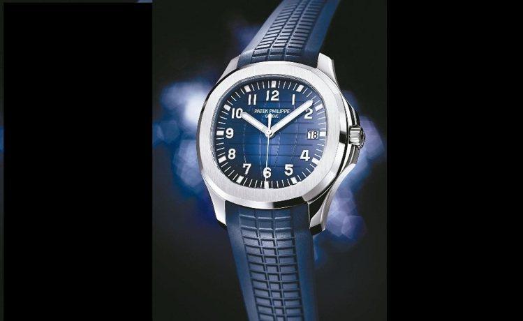 百達翡麗海底探險家系列20周年Aquanaut Ref 5168G 腕表,首度採...