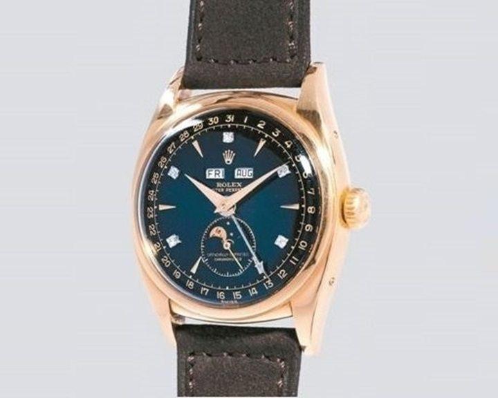 曾經是越南末代皇帝佩表的Rolex Ref. 6062骨董月相表,刷新了勞力士的...