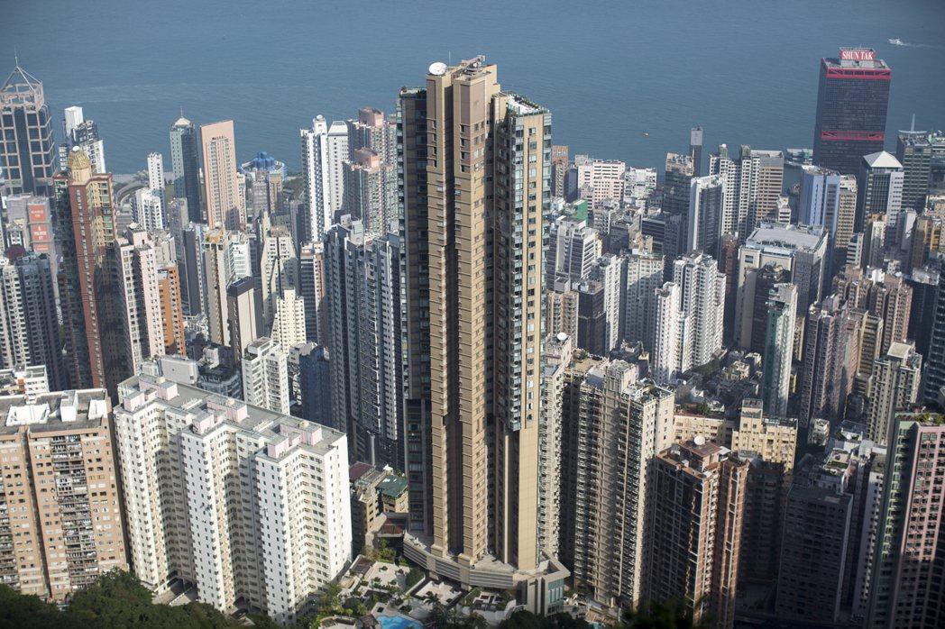 香港回歸將滿20年,圖為香港一景。圖/歐新社