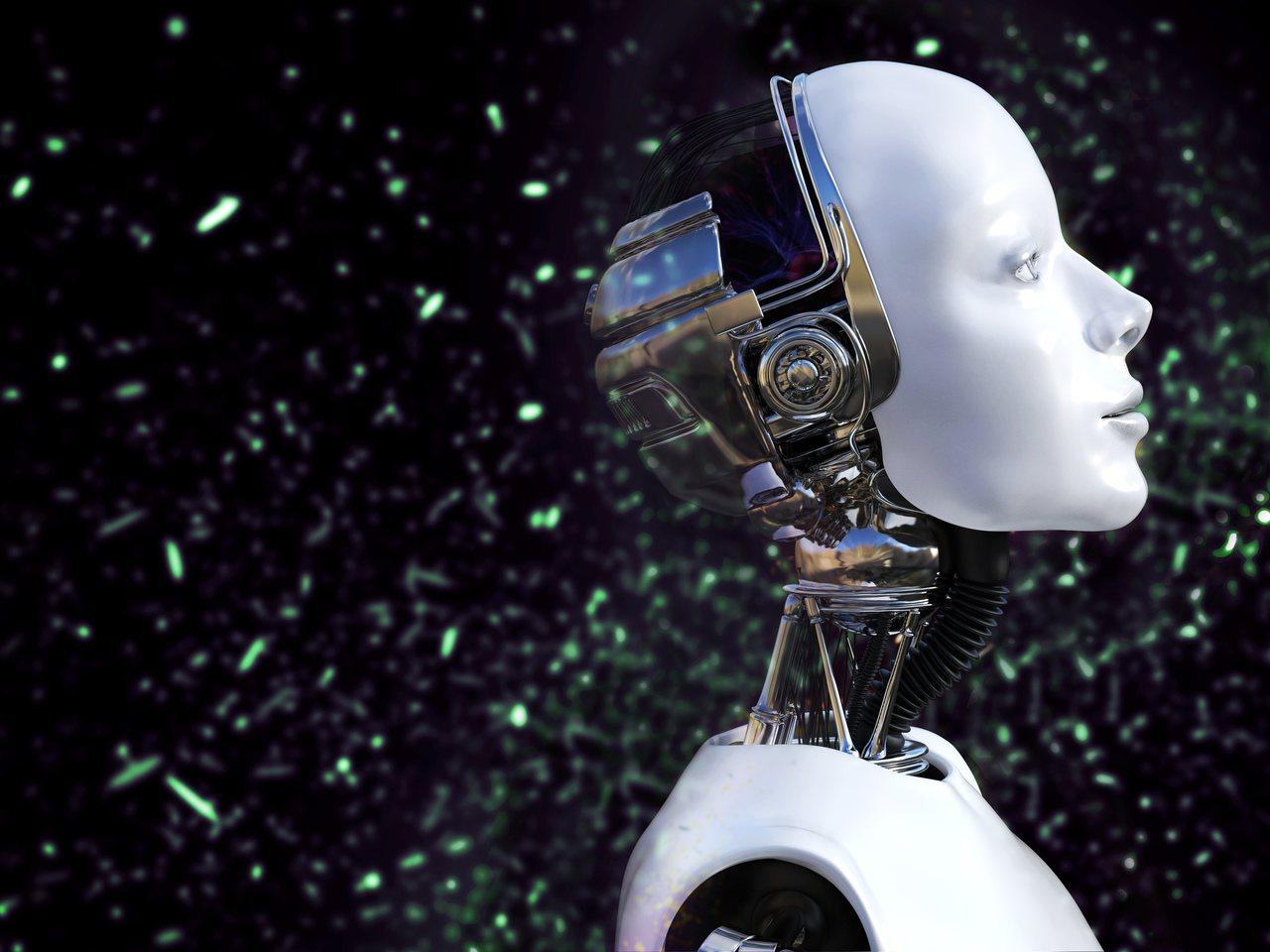 人工智慧示意圖。 Ingimage