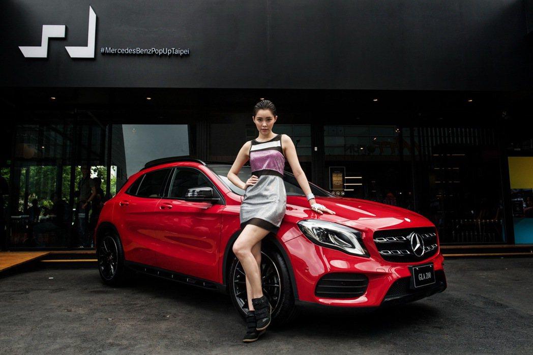 台灣賓士買氣穩定,並以GLA等小型豪華車款切入市場,爭取更多年輕族群青睞。 圖/台灣賓士提供