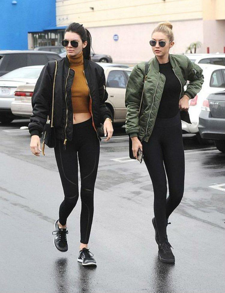 超模界的閨蜜組合Kendall Jenner和Gigi Hadid。圖/擷自pi...