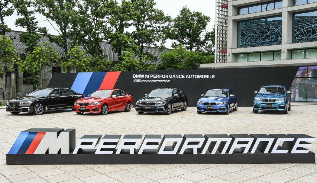BMW M Performance家族成員。 圖/汎德提供