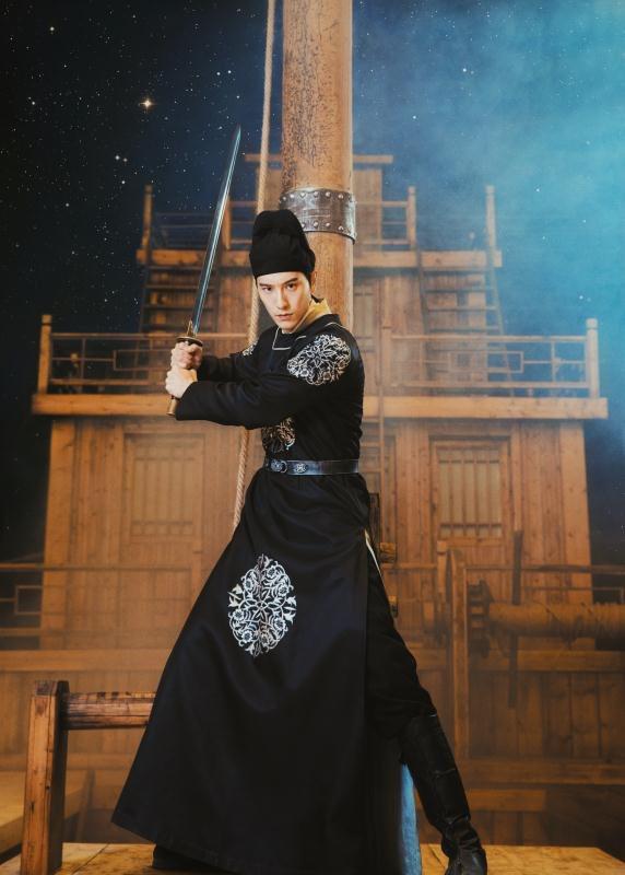 王陽明演出「那片星空那片海2」。圖/帝國娛樂提供