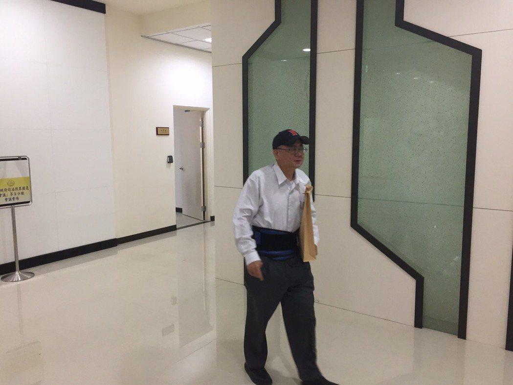 法務部參事陳瑞仁。記者王聖藜/攝影