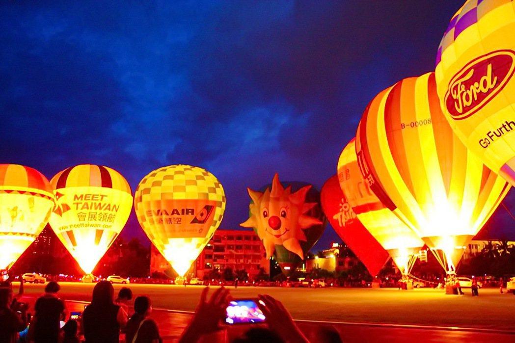 台東熱氣球嘉年華今年進入第7年,對於其他縣市競爭,端出活動最長、造型球最多及南部...