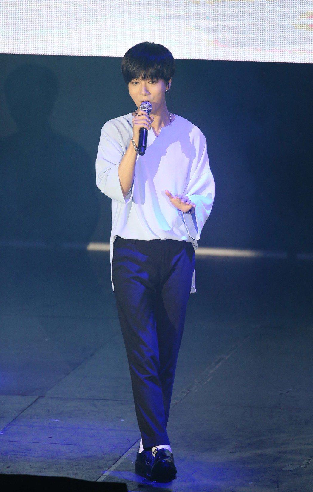 韓星「藝聲」來台舉辦見面會,與粉絲同樂。記者陳瑞源/攝影