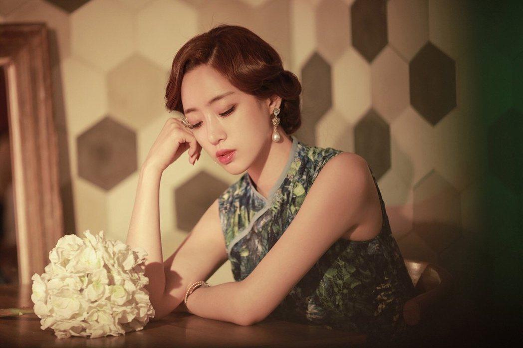 成員恩靜(Eunjung)。 圖/擷自tiara組合貼吧