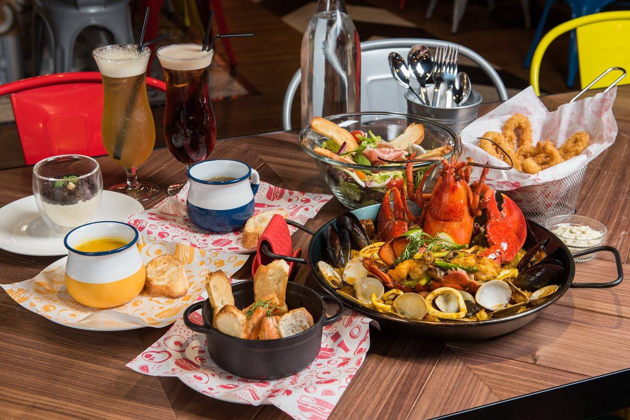 環球桃園A8主題餐廳HOWFUN好飯食堂。圖/環球購物中心提供