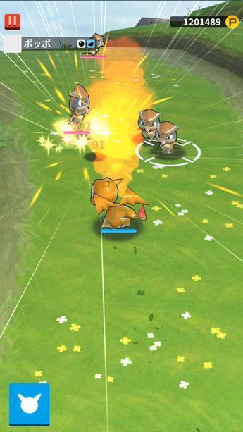 《PokéLand》主打簡單操作就能體驗爽快的寶可夢戰鬥。