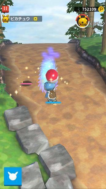 透過點擊,玩家就能讓寶可夢移動並進行對戰。
