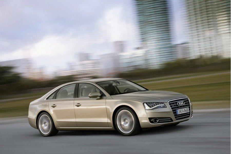 圖為 2011 年 Audi A8 車型。 摘自 Audi